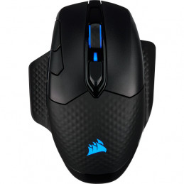 Corsair DARK CORE RGB PRO hiiri Oikeakätinen RF Wireless+Bluetooth+USB Type-A Optinen 18000 DPI