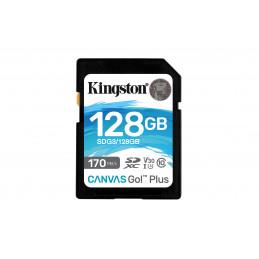 Kingston Technology Canvas Go! Plus flash-muisti 128 GB SD UHS-I Luokka 10