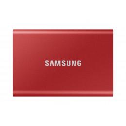 Samsung Portable SSD T7 500 GB Punainen