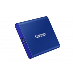 Samsung Portable SSD T7 2000 GB Sininen