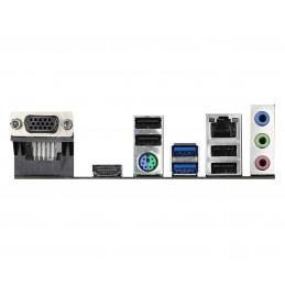 Asrock H410M-HVS Intel H410 LGA 1200 mikro ATX