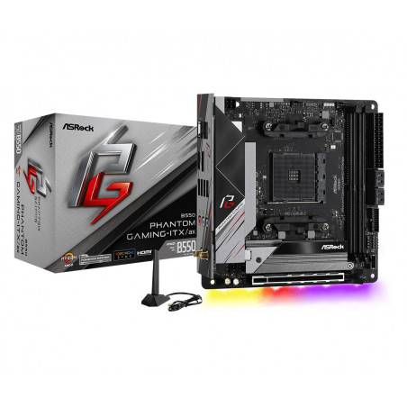 Asrock B550 Phantom Gaming-ITX a AMD B550 Kanta AM4 Mini ITX