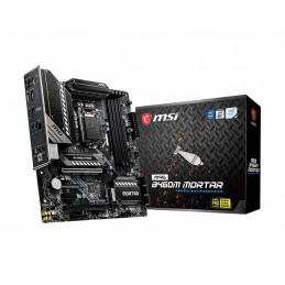 MSI MAG B460M MORTAR emolevy Intel B460 LGA 1200 mikro ATX