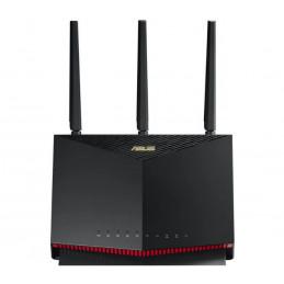 ASUS RT-AX86U langallinen reititin 2.5 Gigabit Ethernet, 5 Gigabit Ethernet Musta