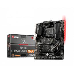 MSI B450 TOMAHAWK MAX II emolevy AMD B450 Kanta AM4 ATX