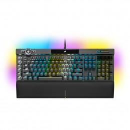 Corsair K100 RGB näppäimistö USB QWERTY Hollanti Musta