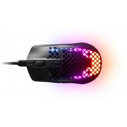 Steelseries Aerox 3 hiiri Oikeakätinen USB Type-C Optinen 8500 DPI