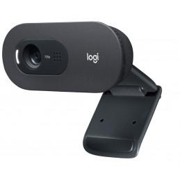 Logitech C505 verkkokamera 1280 x 720 pikseliä USB Musta