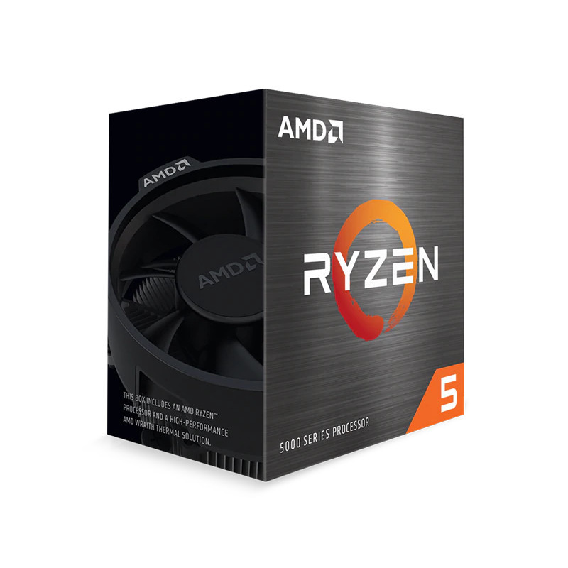 AMD Ryzen 5 5600X suoritin 3,7 GHz 32 MB L3 Laatikko