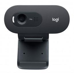 Logitech C505e verkkokamera 1280 x 720 pikseliä USB Musta