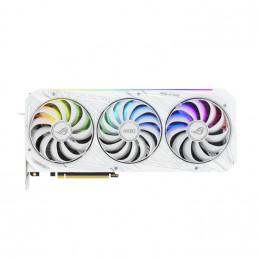 ASUS ROG -STRIX-RTX3080-O10G-WHITE NVIDIA GeForce RTX 3080 10 GB GDDR6X