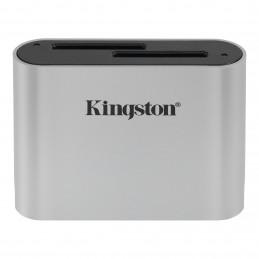 Kingston Technology Workflow SD Reader kortinlukija USB 3.2 Gen 1 (3.1 Gen 1) Musta, Hopea