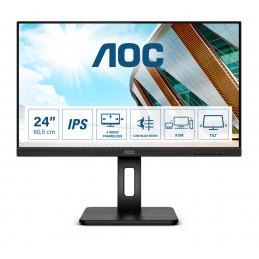 "AOC Pro-line 24P2C LED display 60,5 cm (23.8"") 1920 x 1080 pikseliä Full HD Musta"