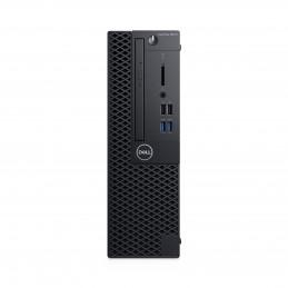 DELL OptiPlex 3070 i3-9100 SFF 9. sukupolven Intel® Core™ i3 8 GB DDR4-SDRAM 256 GB SSD Windows 10 Pro PC Musta