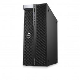 DELL Precision 5820 W-2235 Tower Intel® Xeon W 32 GB DDR4-SDRAM 512 GB SSD Windows 10 Pro Työasema Musta