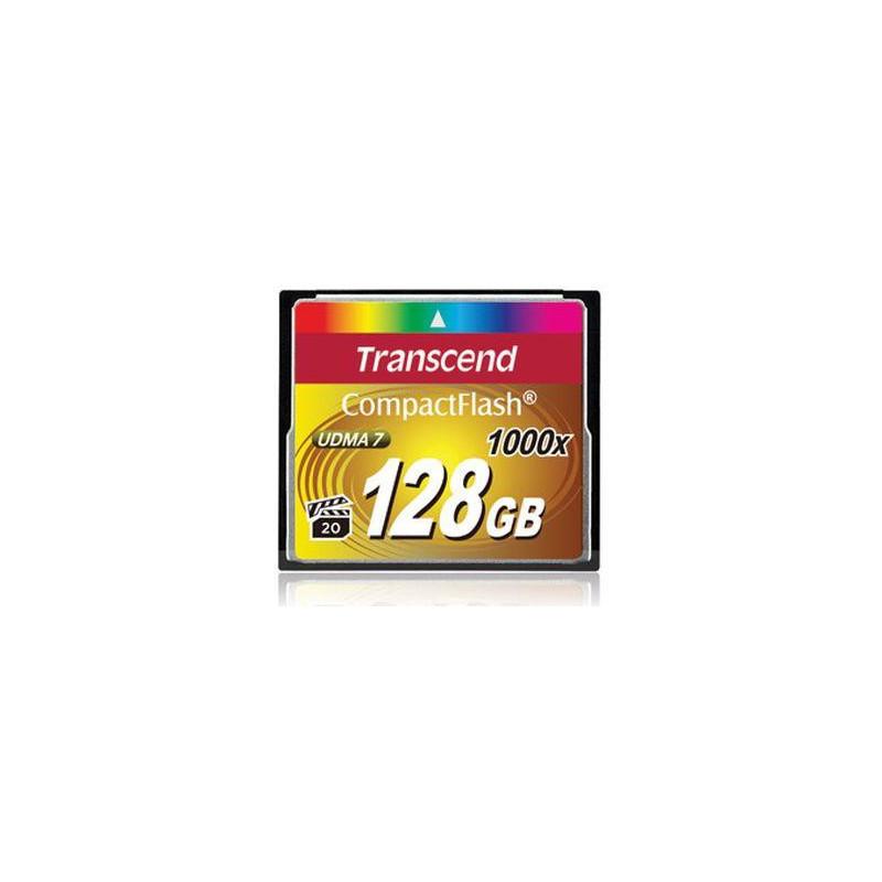 Transcend 1000x CompactFlash 128GB flash-muisti MLC
