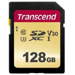 Transcend 128GB UHS-I U3 SD flash-muisti SDXC Luokka 10