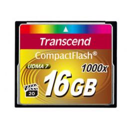 Transcend CompactFlash Card 1000x 16GB flash-muisti MLC