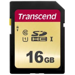 Transcend 16GB, UHS-I, SD flash-muisti SDHC Luokka 10
