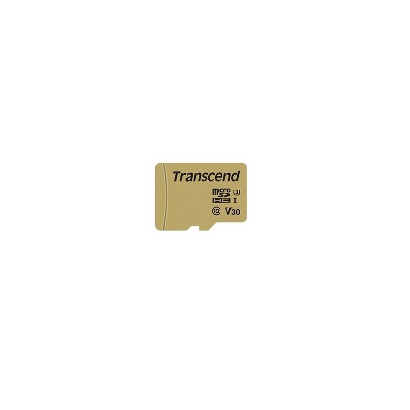 Transcend 16GB UHS-I U3 flash-muisti MicroSDHC Luokka 10