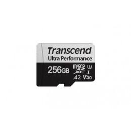 Transcend TS256GUSD340S flash-muisti 256 GB MicroSDXC UHS-I Luokka 10