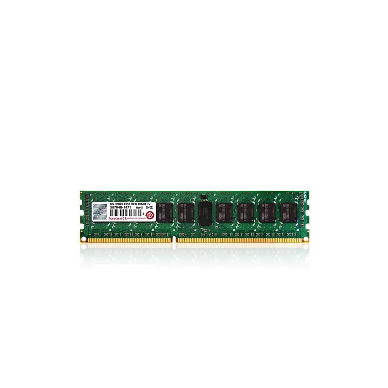 Transcend 16GB DDR3-1600 muistimoduuli 1600 MHz ECC