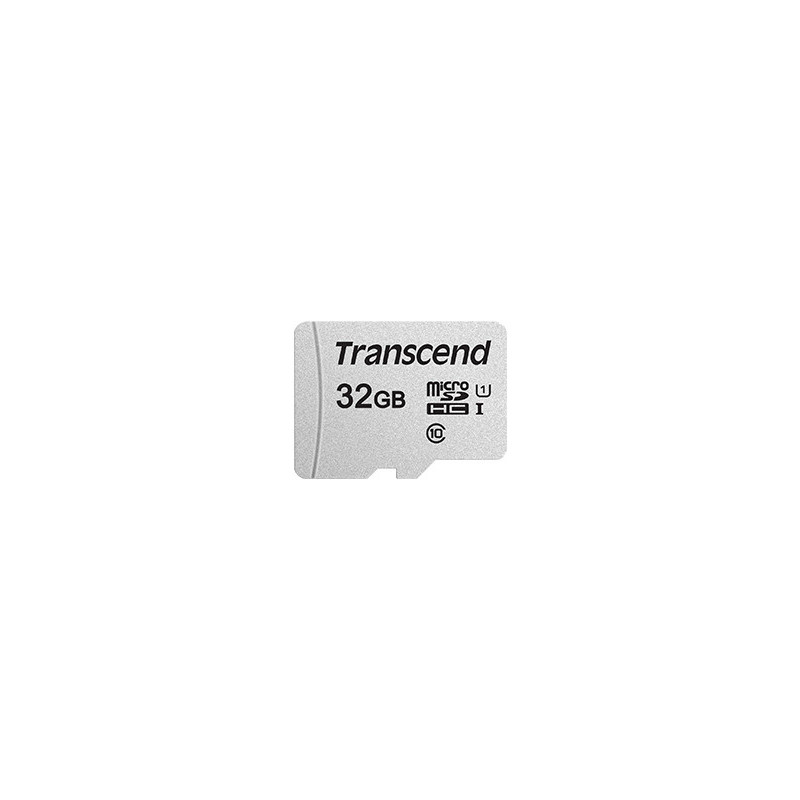 Transcend 300S flash-muisti 32 GB MicroSDHC NAND Luokka 10