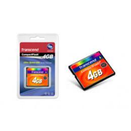 Transcend TS4GCF133 flash-muisti 4 GB CompactFlash MLC