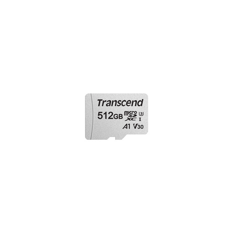 Transcend 300S flash-muisti 512 GB MicroSDXC NAND