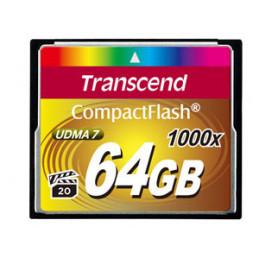 Transcend CompactFlash Card 1000x 64GB flash-muisti MLC