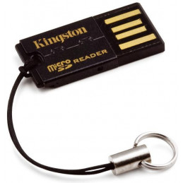 Kingston Technology FCR-MRG2 kortinlukija USB 2.0 Musta