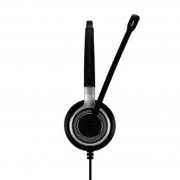 EPOS   SENNHEISER IMPACT SC 660 ANC USB Kuulokkeet Pääpanta USB A-tyyppi Musta, Hopea