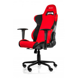 Arozzi Torretta Yleispelituoli pehmustettu istuin Musta, Punainen