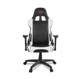 Arozzi Verona V2 PC-pelituoli pehmustettu istuin Musta, Valkoinen