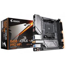 Gigabyte B450 I AORUS PRO WIFI emolevy AMD B450 Kanta AM4 mini ATX