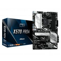 Asrock X570 Pro4 AMD X570 Kanta AM4 ATX