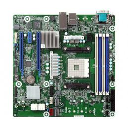 Asrock X470D4U2-2T palvelimen työaseman emolevy AMD X470 Kanta AM4 mikro ATX