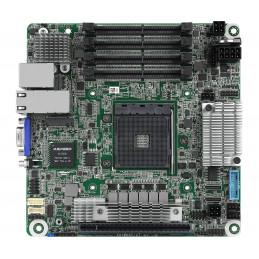 Asrock X570D4I-2T palvelimen työaseman emolevy AMD X570 Kanta AM4 Mini ITX