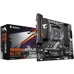 Gigabyte B550M AORUS ELITE AMD B550 Kanta AM4 mikro ATX