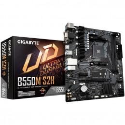 Gigabyte B550M S2H AMD B550 Kanta AM4 mikro ATX