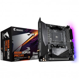 Gigabyte B550I AORUS PRO AX AMD B550 Kanta AM4 Mini ITX