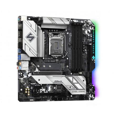 Asrock B460M Steel Legend Intel B460 LGA 1200 mikro ATX