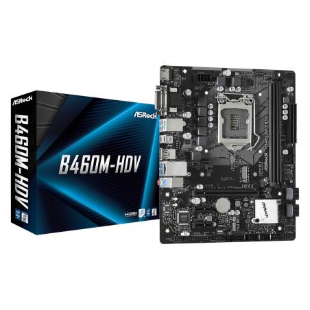 Asrock B460M-HDV emolevy Intel B460 LGA 1200 mikro ATX