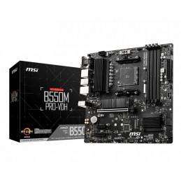 MSI B550M PRO-VDH emolevy AMD B550 Kanta AM4 mikro ATX