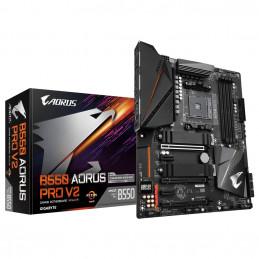 Gigabyte B550 AORUS PRO V2 emolevy AMD B550 Kanta AM4 ATX