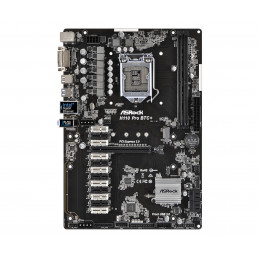 Asrock H110 Pro BTC+ Intel® H110 LGA 1151 (pistoke H4) ATX