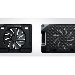 """Cooler Master NotePal Ergostand III kannettavan tietokoneen jäähdytysalusta 43,2 cm (17"""") 800 RPM Musta"""