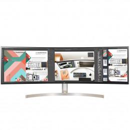 """LG 49WL95C-W LED display 124,5 cm (49"""") 5120 x 1440 pikseliä UltraWide Dual Quad HD Valkoinen"""