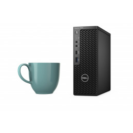 DELL Precision 3240 i7-10700 CFF 10. sukupolven Intel® Core™ i7 16 GB DDR4-SDRAM 512 GB SSD Windows 10 Pro Työasema Musta