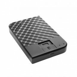 Verbatim Fingerprint Secure ulkoinen kovalevy 1000 GB Musta